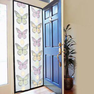 Perdea magnetica anti insecte – ideala pentru a-ti proteja casa de insecte