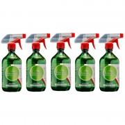 5 Dezinfectant 5x500 ml, Multisuprafete Antibacterian