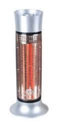 Aeroterma electrica Hausberg din fibra de carbon, 2 trepte putere, 900 W