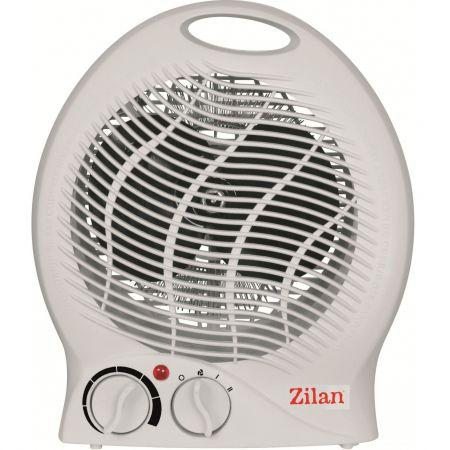 Aeroterma Zilan, Putere 2000W, 2 nivele de incalzire+rece, Protectie supraincalzire, Termostat reglabil