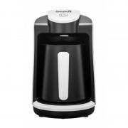 Aparat Hausberg preparat cafea turcească,4 cafele simultan,senzor,400W,negru/alb