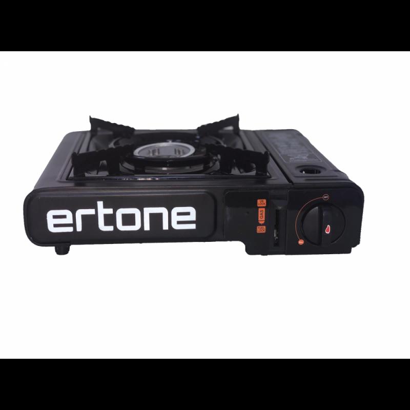 Aragaz portabil camping Ertone,butelie spray,aprindere piezo, 2,2 kW