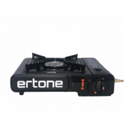 Aragaz portabil Ertone 2 in 1,aprindere piezo,2,2 kW