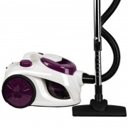 Aspirator fara sac Hausberg Cyclone Vacuum Cleaner,700W,79dB,3L,alb/mov