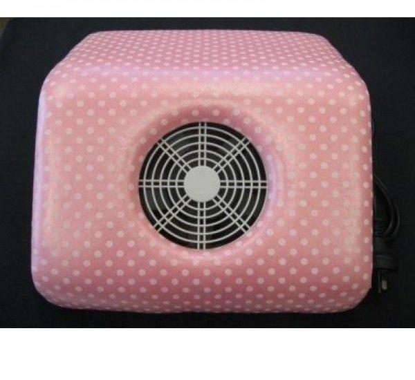 Aspirator Praf - Pink cu buline Model Mare