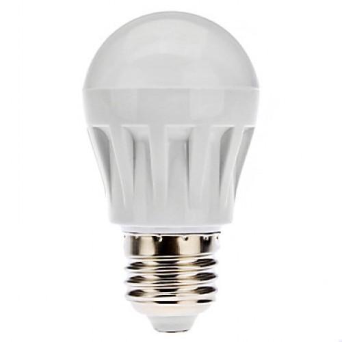 Bec cu LED Glob E27 12 W 220V Plastic Lumina Calda