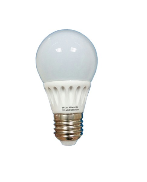 Bec LED E27, 9W SFERA, 800 Lumeni, Lumina calda
