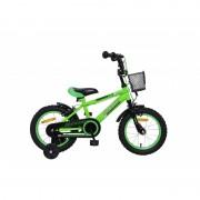 """Bicicleta Splendor pentru copii,14"""",verde"""