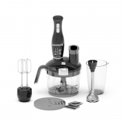Blender 4 in 1 Hausberg,turbo,1.5 l, 1500 W,Negru