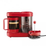 Cafetiera French Press Bodum Bistro Red 410W