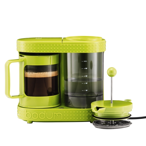 Cafetiera French Press Bodum Bistro Lime Green 410W
