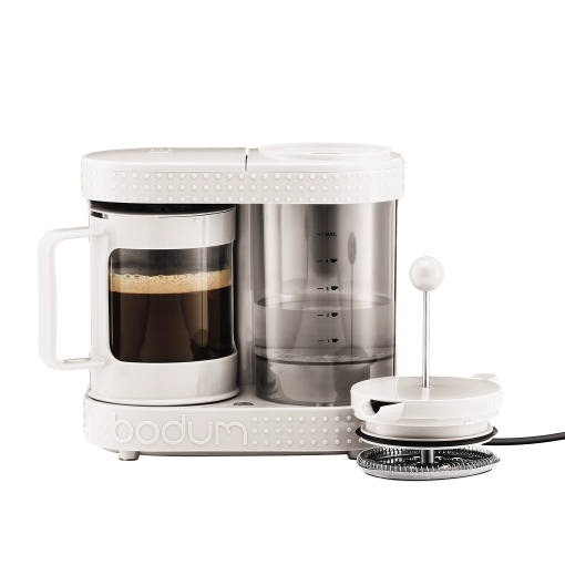 Cafetiera French Press Bodum Bistro White 410W