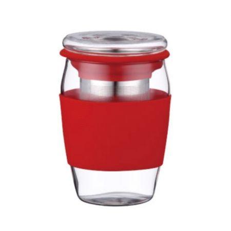 Cana din sticla cu infuzor pentru ceai/cafea Peterhof,500 ml