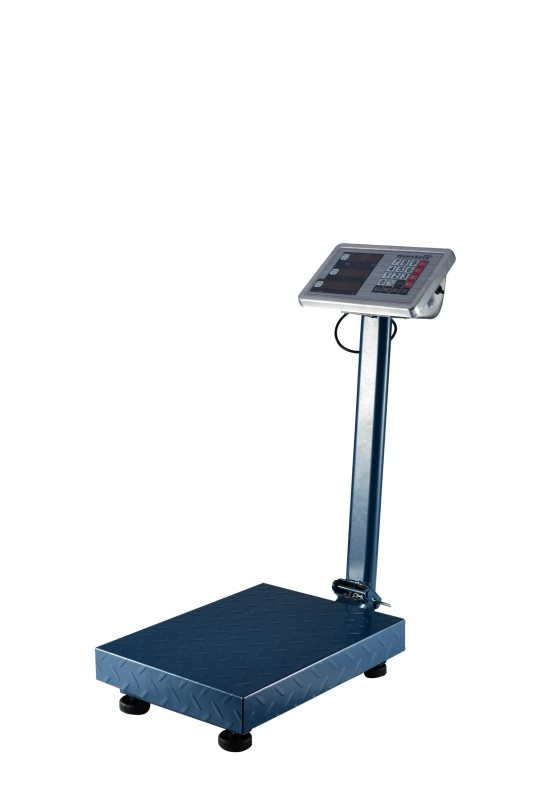 Cantar electronic comercial Hausberg ,300 Kg, platforma otel