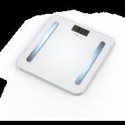 Cantar electronic de baie Hausberg,180kg, Afisaj Led,6V,alb