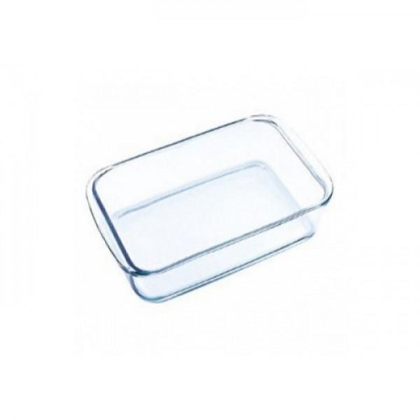 Vas dreptunghiular din sticla borosilicata, 2.4 Litri