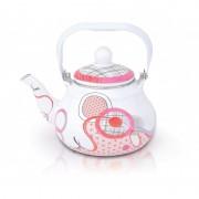 Ceainic emailat 1.5 Litri, roz