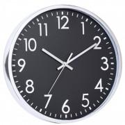 Ceas perete Grunberg 30.5 x 30.5 x 4 cm, negru