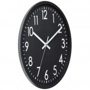 Ceas perete Grunberg 30 x 30 x 4 cm, negru