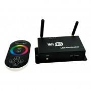 Controller Banda LED RGB WI-FI Wireless cu telecomanda,192W
