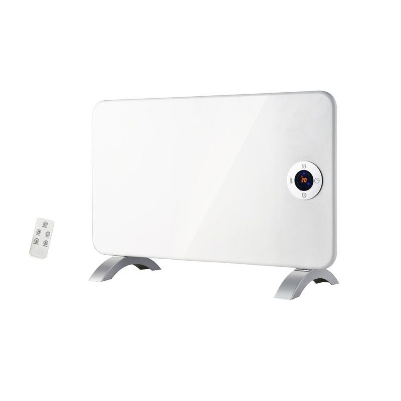 Convector electric Victronic podea/perete,1000W, IP24,Termostat,Timer,2 trepte de putere, Display LED