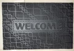 Covoras pentru usa 40 x 60 cm, Welcome