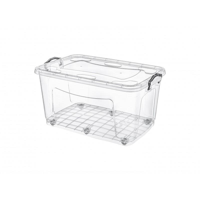 Cutie pentru depozitare incaltaminte 40.5x63x32 cm, roti