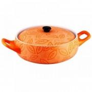 Cratita ceramica rotunda cu capac,1.5 Litri,28 cm