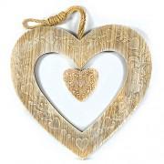 Cuier Decorativ Vintage in Forma de Inima