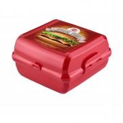 Cutie pentru sandwich din plastic 14x14x8 cm