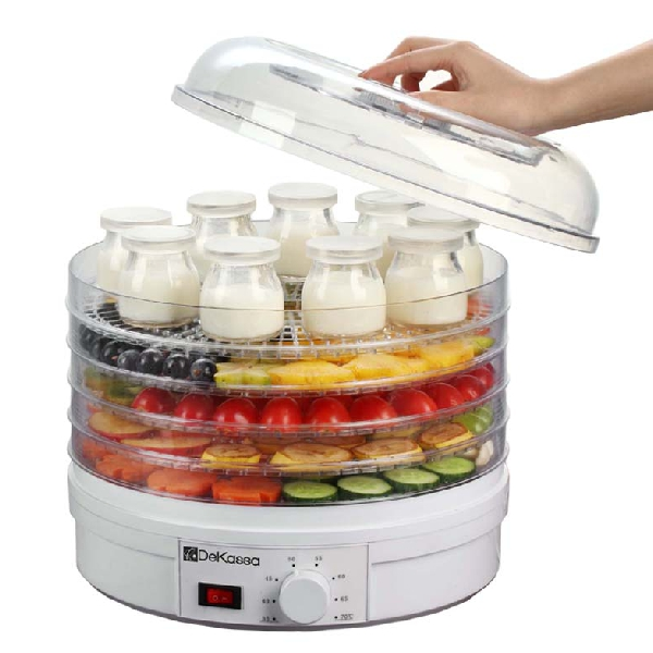 Deshidrator alimente si preparare iaurt,9 recipiente