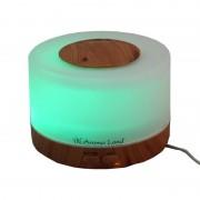 Difuzor Aroma cu Ultrasunete Oslo, forma rotunda,alimentare USB 5V,lumina LED
