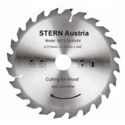 Disc aluminiu 60 dinti pt ferastrau cu panza circulara 210mm