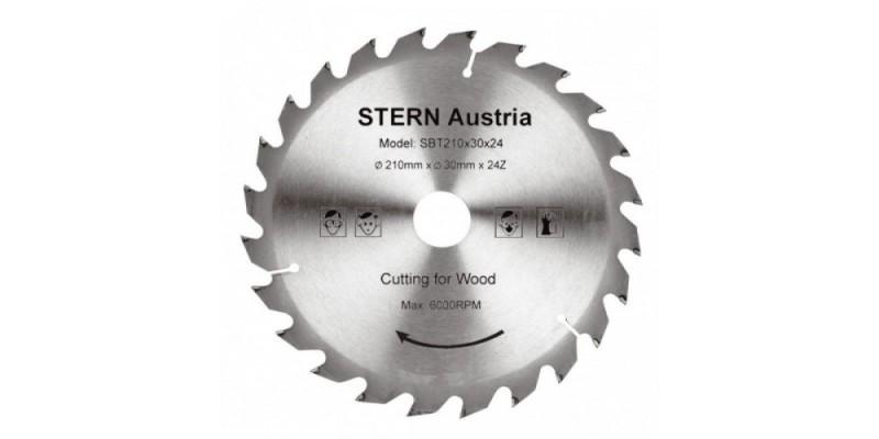 Disc lemn 24 dinti pt ferastrau cu panza circulara 210mm
