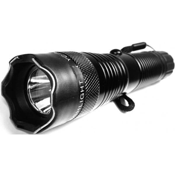 Electrosoc metalic cu lanterna