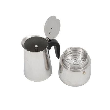 Espressor Grunberg pentru aragaz, Inox, Capacitate 450 ml
