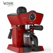 Espressor Victronic,3.5 bar,800 W,cana sticla,250 ml