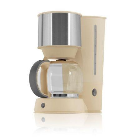Filtru de cafea Victronic, 1080 W, Capacitate15 Cesti, Crem