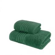 Set 2 Prosoape 100% bumbac,550gr/m2,fir dublu,verde