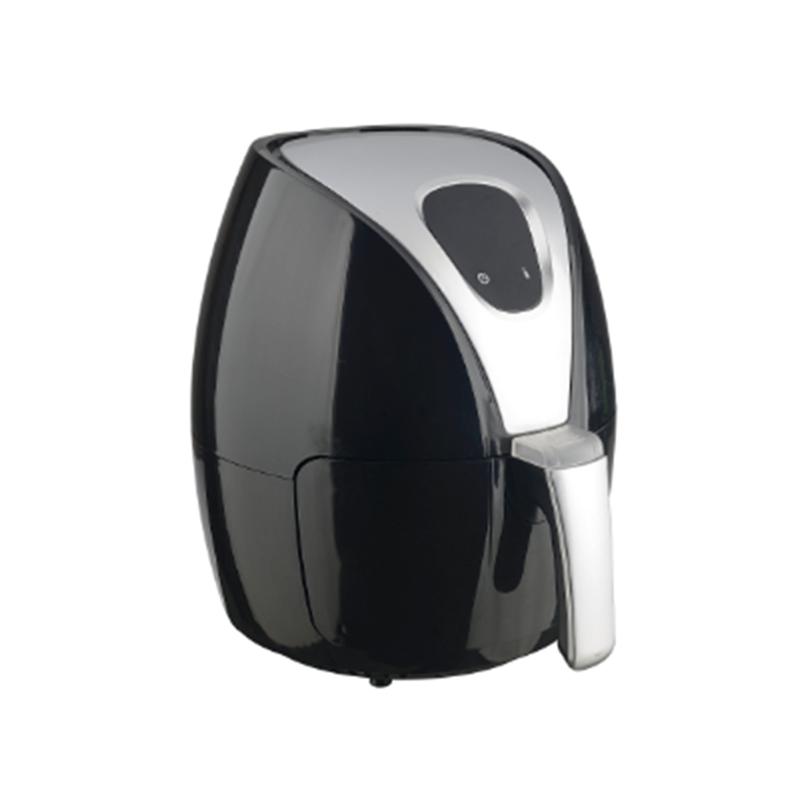 Friteuză cu Aer Fierbinte Airfryer Magic Digital Hausberg, termostat, temporizator, 1500 W, 2.6 Litri, afişaj LCD