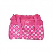 Geanta mamici Mama Bag 40 x16 x31cm, roz