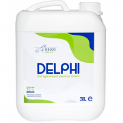 Gel igienizant Delphi pentru maini 70% alcool,3 Litri