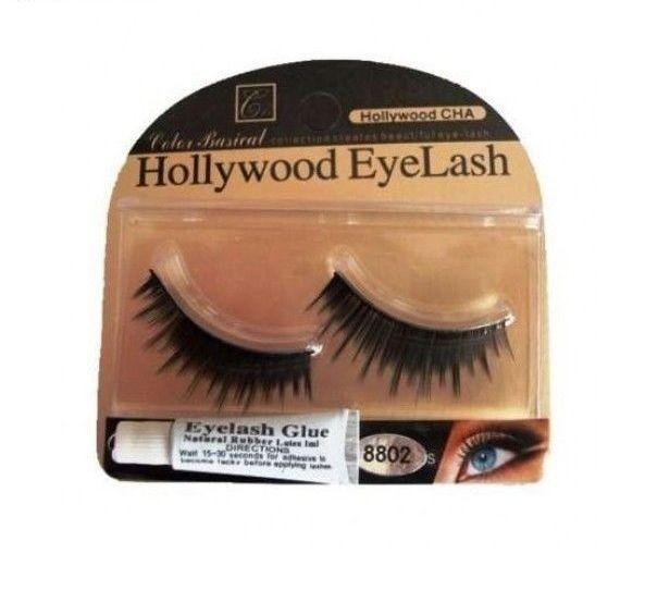 Gene False Hollywood EyeLash Nr 4 + lipici