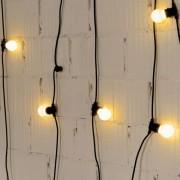 Ghirlanda luminoasa 10 becuri, interconectabil, E27, 10 metri