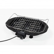 Gratar Electric cu Grill Barbeque Victronic,Inox,3 nivele,2000 W