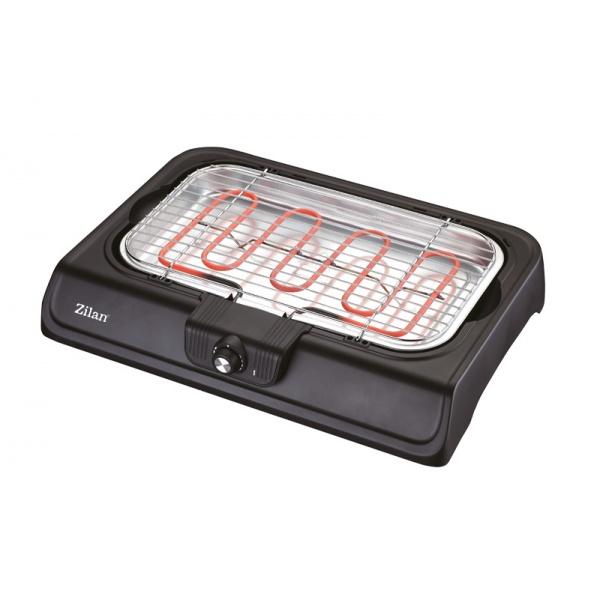 Gratar electric Zilan,2000 W, termostat reglabil