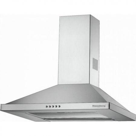 Hota Hausberg Inox, 60 cm, 190 W, Argintiu