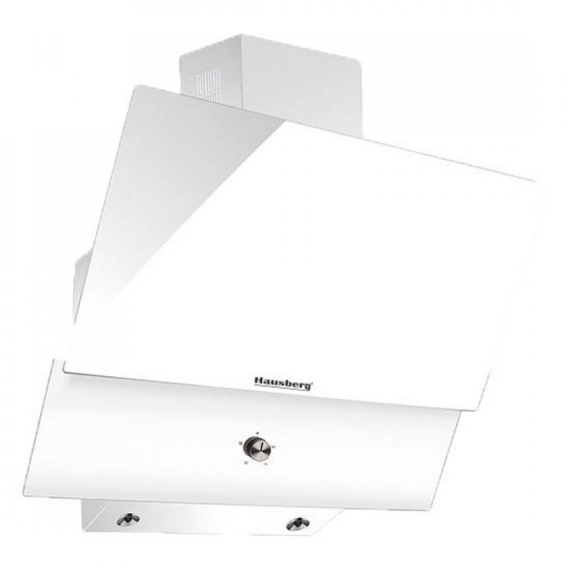 Hota Incorporabila decorativa Hausberg.60 cm,filtru aluminiu,190W,3 trepte,alb