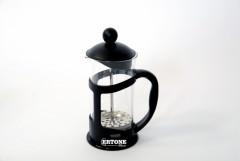 Infuzor ceai si cafea Ertone, 350 ml, sticla, inox