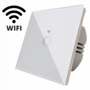 Intrerupator touch simplu WI-FI,panou sticla